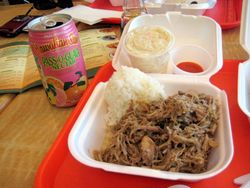 EF_L&L's_Mini_Kalua_Pig_Plate_Lunch