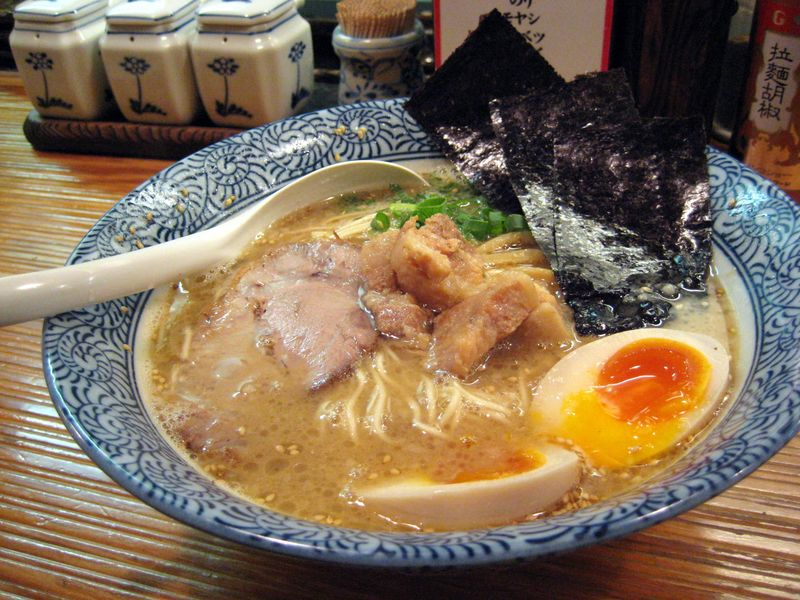 Hakata Ramen in Ginza