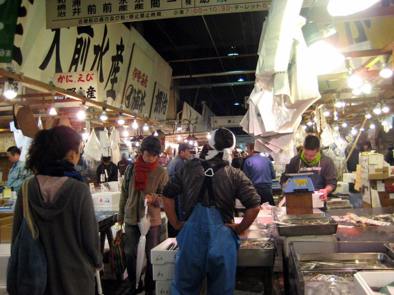 EF Tsukiji Fish Market, Day 1