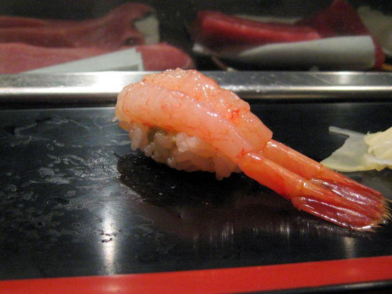 EF Tsukiji Fish Market, Day 1, Amaebi